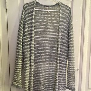 Free People Grey Sweater/Duster